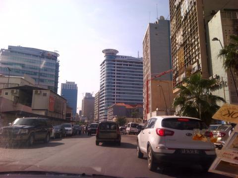 Ruas da cidade de Luanda - 5