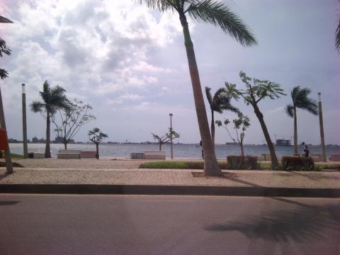 Ruas da cidade de Luanda - Marginal