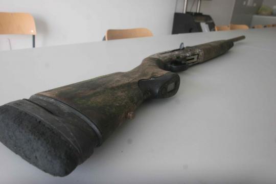 A400 XPlor encontrada no Rio Cávado