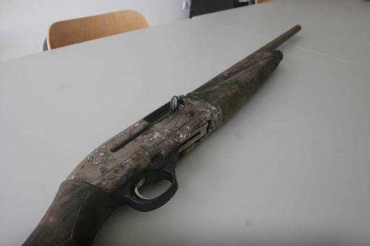 Arma encontrada no Rio Cávado