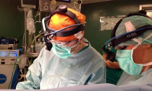 Cardiochirurgia, Google Glasse alle Molinelle
