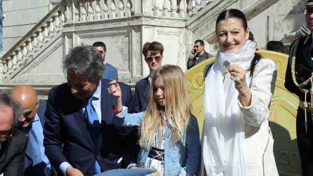 Carla Fracci e Flam di Braccialetti Rossi