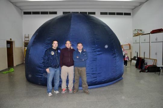 El planetario digital Huenu Mapu acerca el cielo