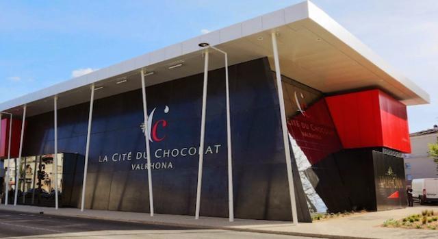 La Cité du chocolat, à Tain-l'Hermitage (Drôme).