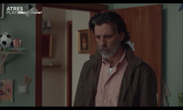 Andrés Vega en su domicilio familiar