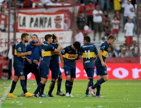 Meli festeja, motor y figura de este Boca 2015