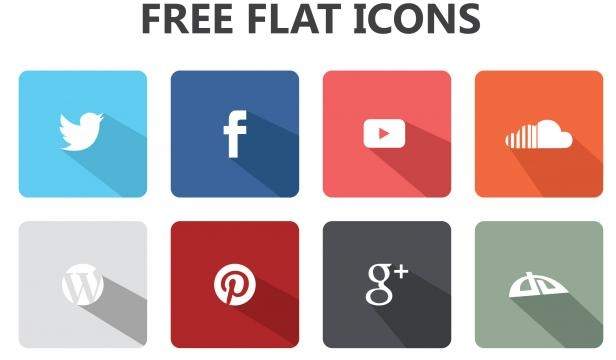 Popular Icons are going flat with no depth.