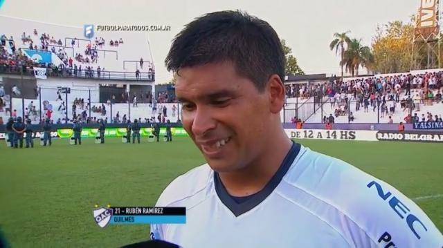 Ramirez le marcó dos goles a Crucero