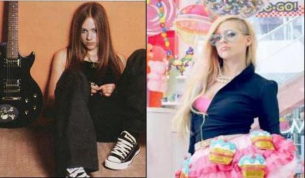 AVRIL: Un antes y después bastante llamativo