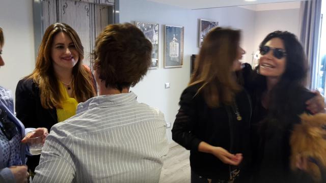 In visita alla mostra Take-A-Look
