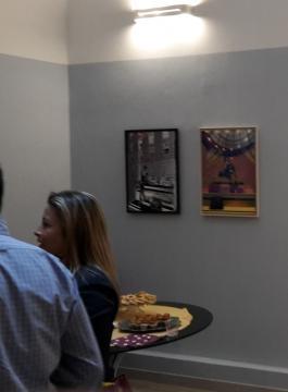 Visitatori alla mostra Take-A-Look