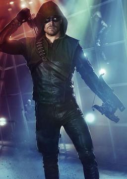 A fantástica personagem 'Green Arrow', ou 'Arrow'