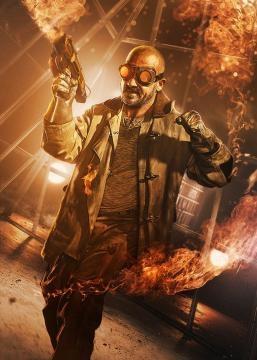 Dominic Purcell interpreta 'Heat Wave'