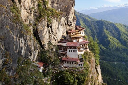 El templo del Nido del Tigre, Butan