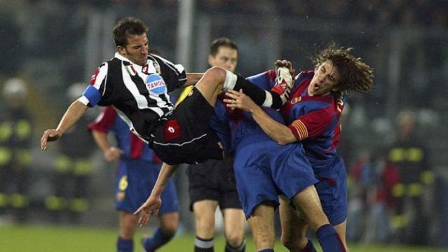 Barça-Juve é um duelo com muita história