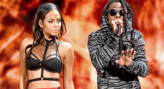 Christina Milian et son compagnon Lil Wayne.