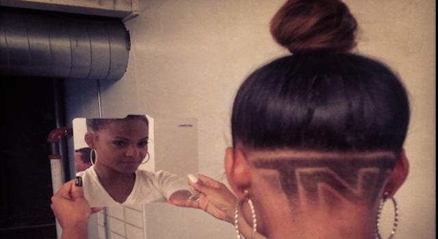 Christina Milian se rase la tête en TnT.