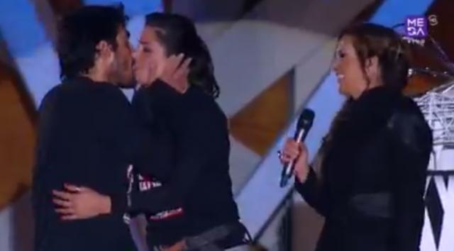 Ganadores de Amor a prueba Pedro y Romina