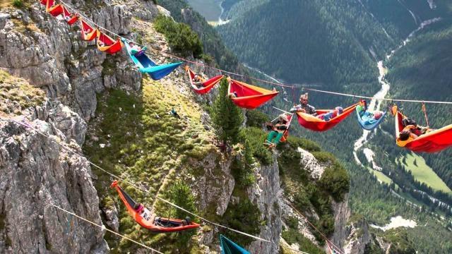 Récord mundial en el Monte Piana de Italia