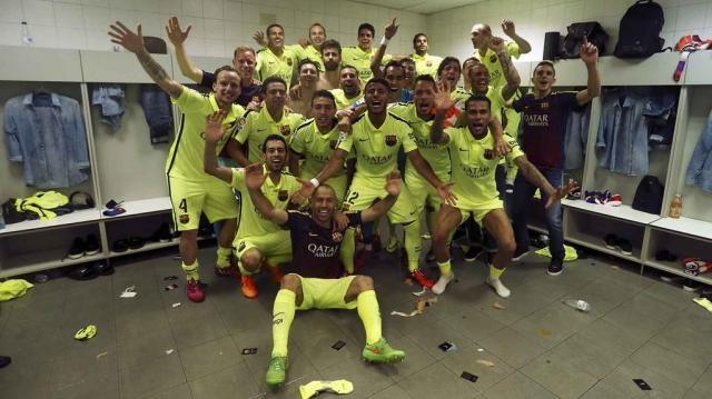Barcelone sacré champion d'Espagne !