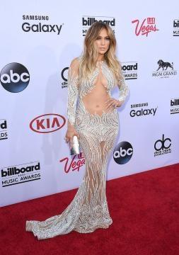 Jennifer Lopez en los premios Billboard