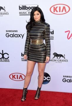 Kylie Jenner, con un look sexy