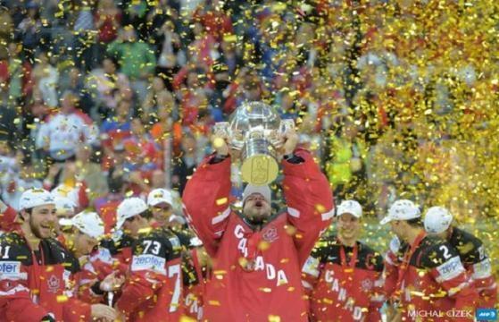 Le Canada champion du monde en hockey sur glace