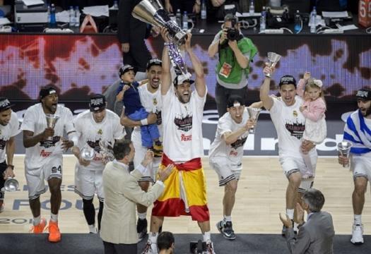 Le Real Madrid gagne l'Euroleague !
