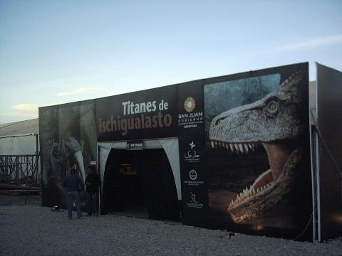 Muestra de Titanes de Ischigualasto