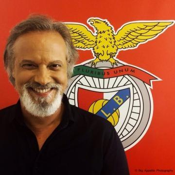 Ricardo Carriço festeja a vitória do Benfica