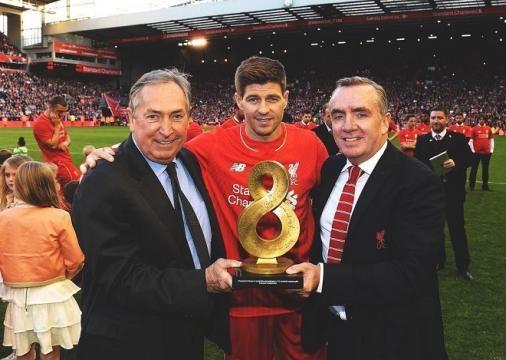 Steven Gerrard a fait ses adieux à Anfield Road !