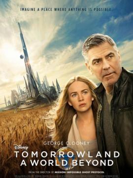 George Clooney y Britt Robertson