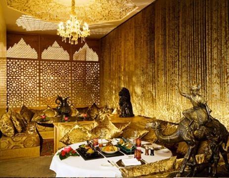La cena servida segun las tradiciones marroquies