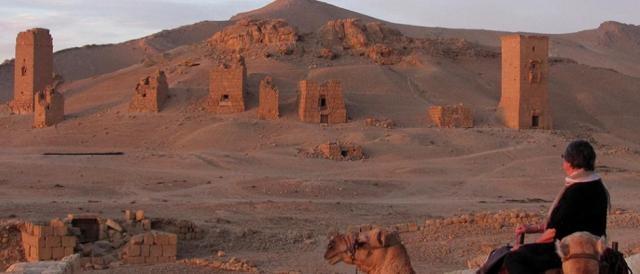La sabbia rosa di Palmira
