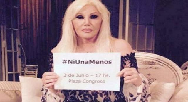 Imagen del spot de la actriz Susana Giménez