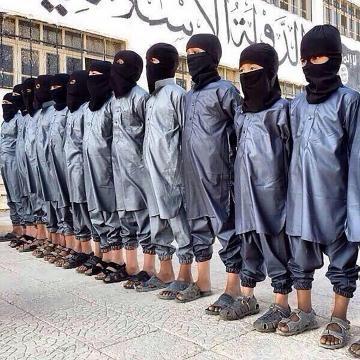 Crianças recrutadas pelo Estado Islâmico