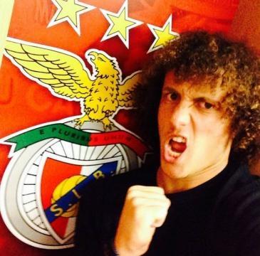 David Luiz actuou no Benfica entre 2007 e 2011