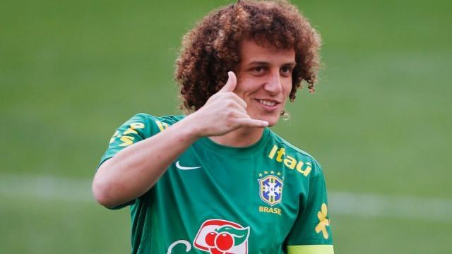 David Luiz é um jogador de futebol brasileiro
