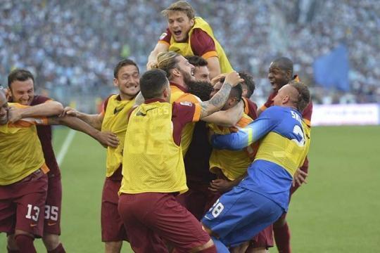 L'AS Roma remporte le derby de la capitale