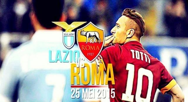 Suivez le derby : Lazio - Roma en direct dés 18h00