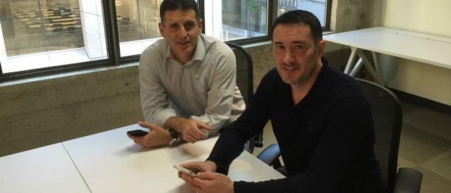 Nir Erez, CEO, y Alex Torres, VP Mkt de Moovit