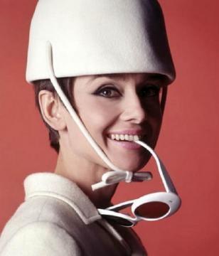 Exposição com fotos de Audrey Hepburn