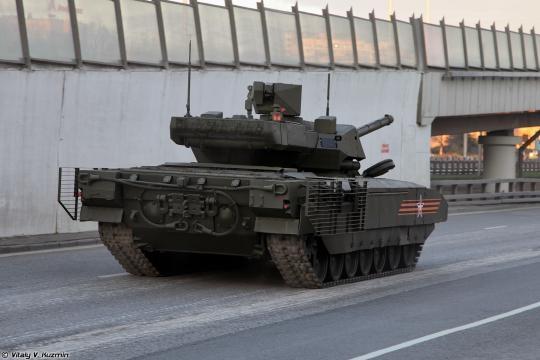 T-14: potências investem em novo armamento.