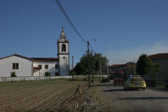 A situação aconteceu na zona da Igreja de Fornelos