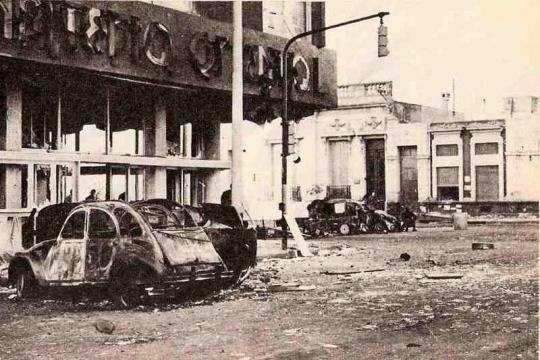 Fábrica de Citroen tomada durante el Cordobazo