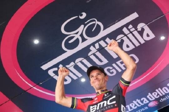 Gilbert remporte une nouvelle victoire au Giro !