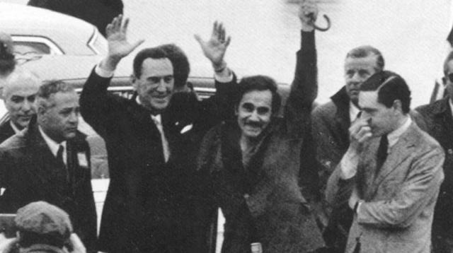 Perón y Rucci, el pichón de Perón