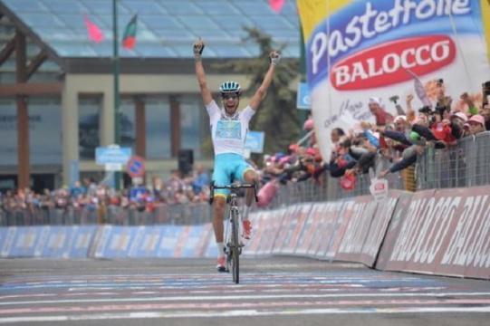 Fabio Aru gagne la 20e étape et signe le doublé !