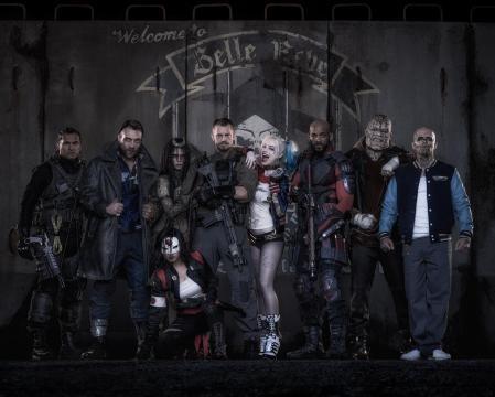 Suicide Squad con la mayoría de sus integrantes