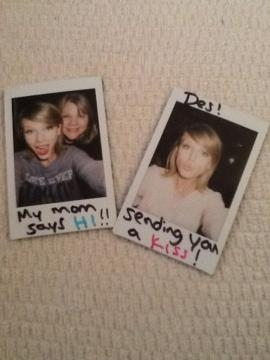 En diciembre regaló postales a sus seguidores